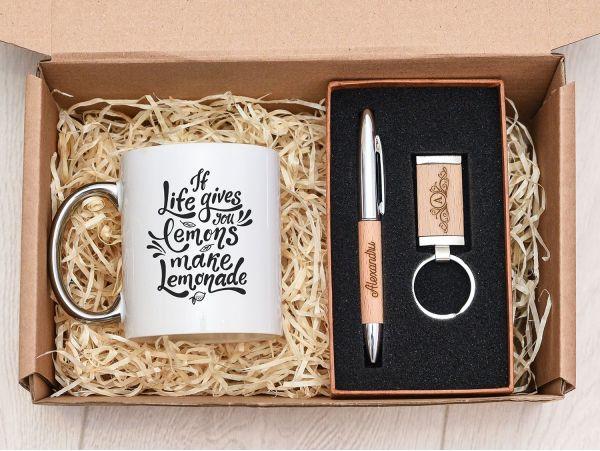 """Set cadou personalizat """"Elegant"""""""