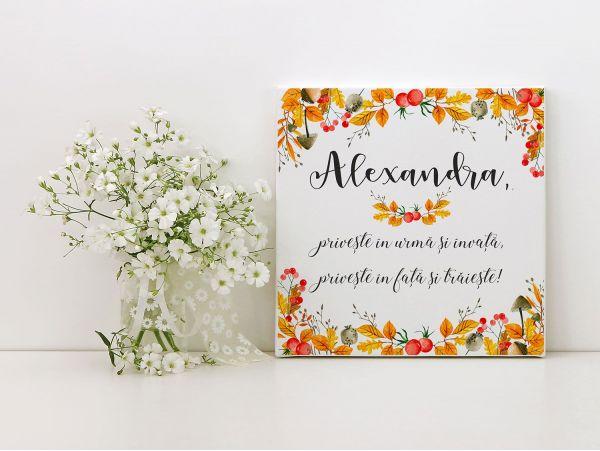 "Tablou canvas personalizat ""Autumn"""