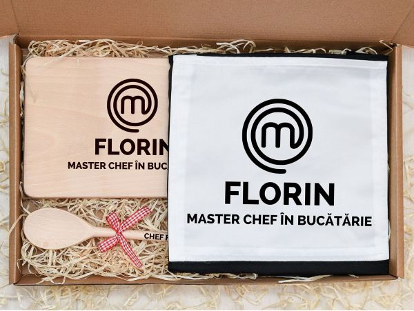 "Set cadou personalizat ""Master chef"""
