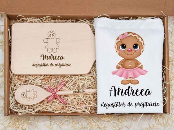 Set cadou personalizat pentru fetite...