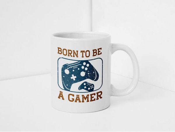 "Cana gamer personalizata ""Born to be..."