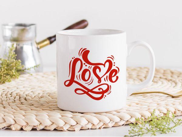 """Cana personalizata """"Love"""""""