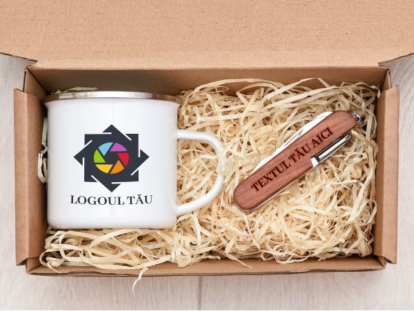 Set cadou personalizat corporate model 1
