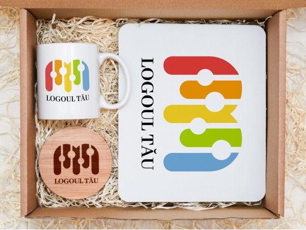 Set cadou personalizat corporate model 8