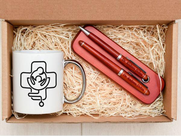 Set cadou personalizat corporate model 9