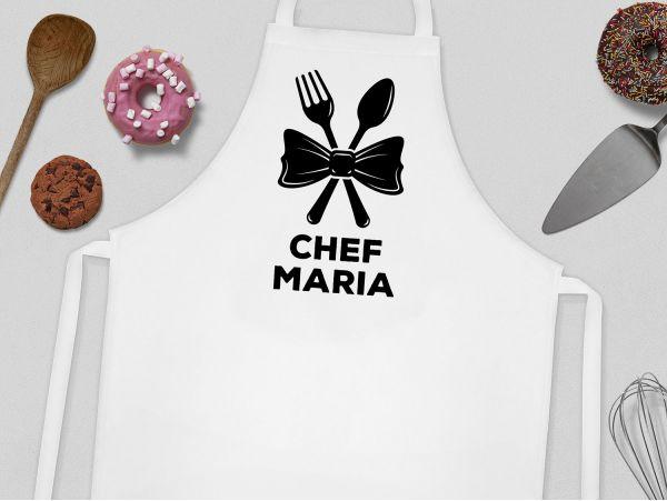 """Sort bucatarie personalizat """"Cute Chef"""""""