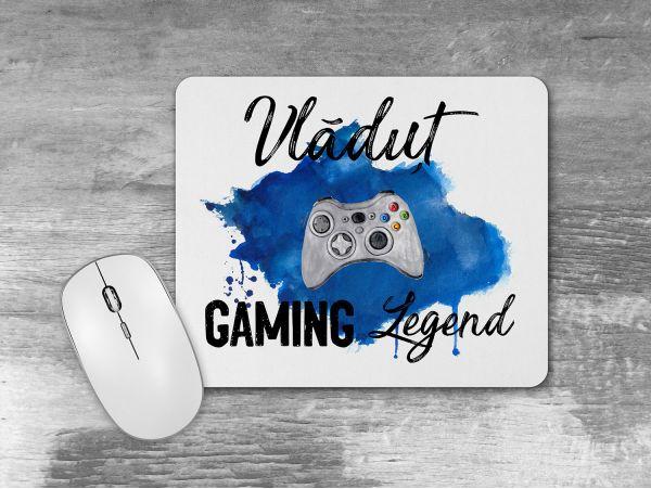 "Mousepad personalizat cu nume ""Gaming..."