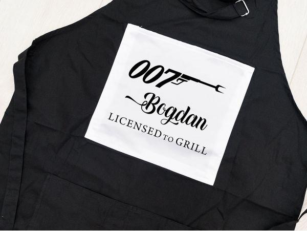 Sort negru bucatarie personalizat...