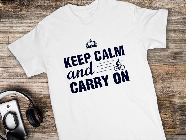 """Tricou personalizat """"Keep calm and..."""