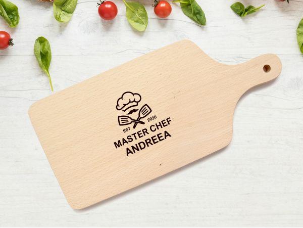 "Tocator personalizat ""Master chef..."""