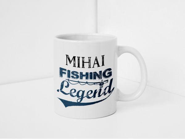 Cana pescar personalizata cu nume...