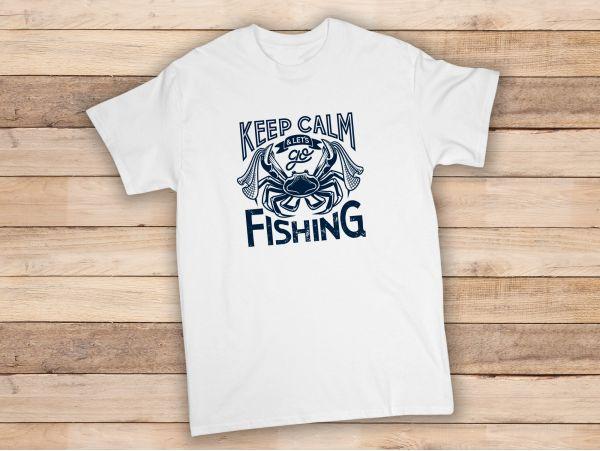 "Tricou personalizat ""Keep calm let's..."