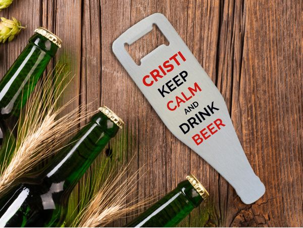 "Desfacator sticle personalizat ""Keep..."