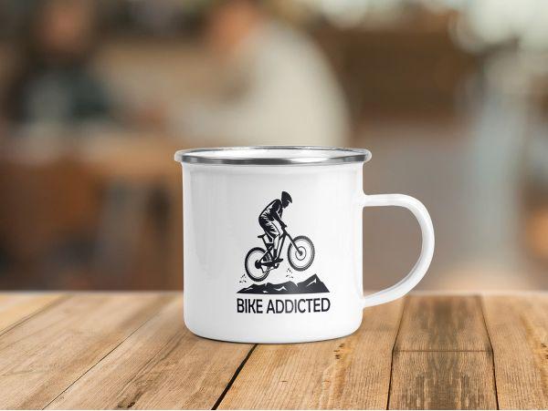 """Cană emailată personalizată """"Bike..."""