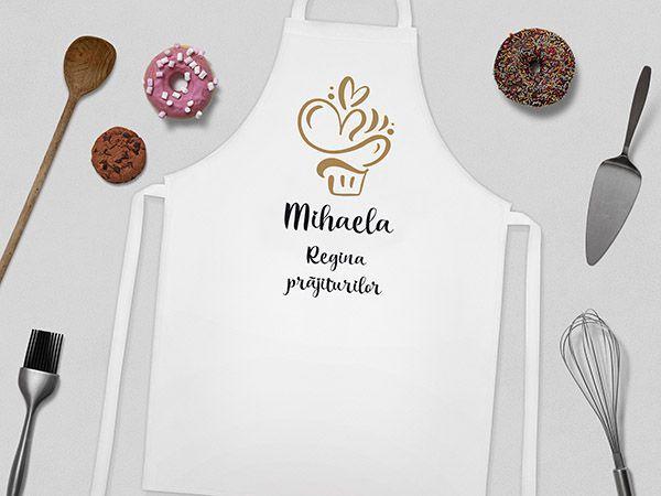 Șorturi bucătărie personalizate