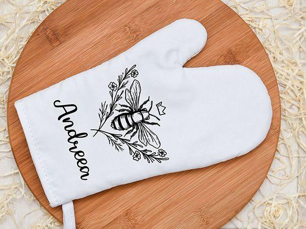 Mănuși bucătărie personalizate