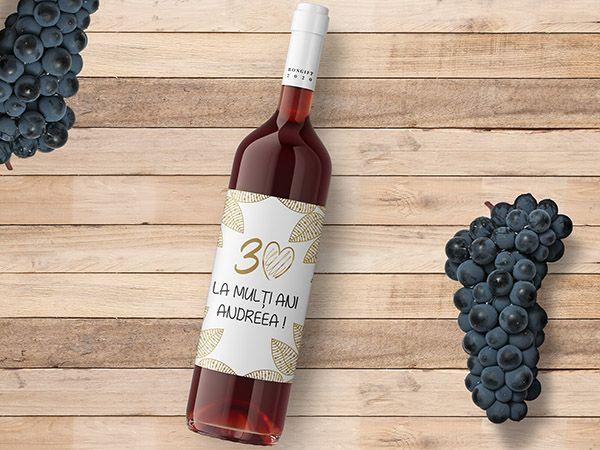 Etichete sticle vin personalizate