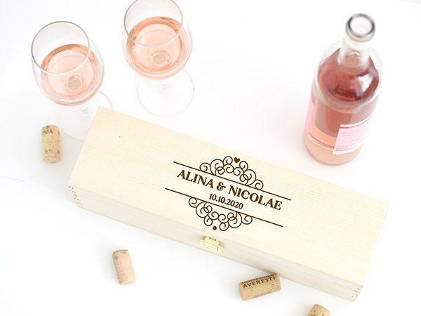 Cutii vin personalizate
