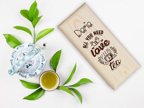 Cutii ceai personalizate